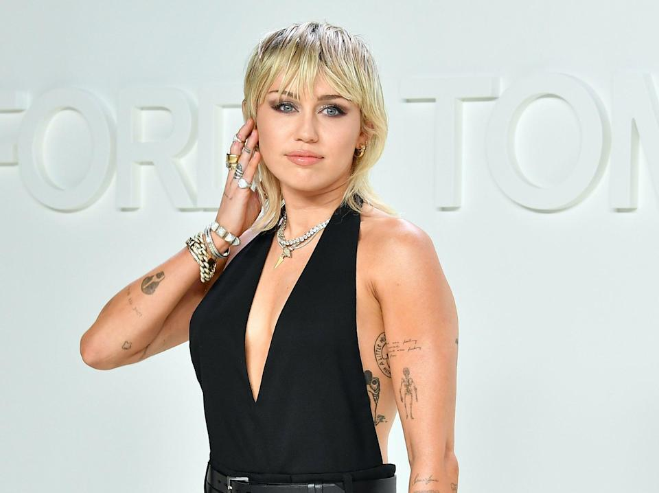 Miley Cyrus was  in the spotlight from a young age (Getty Images)