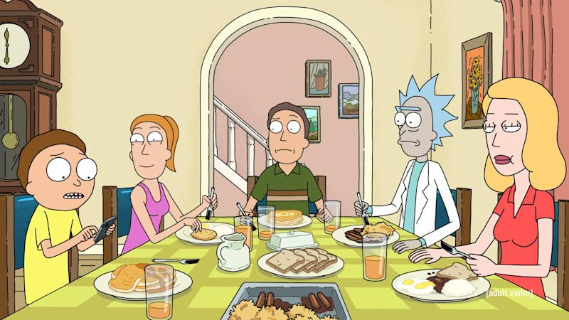 Rick and Morty S4 will land in America this weekend. (Adult Swim)