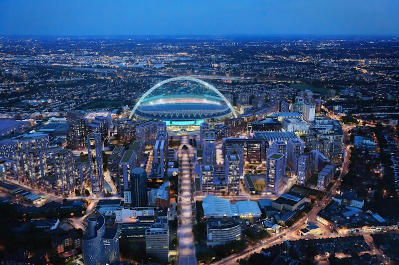 Wembley Park press image from Quintain's PR