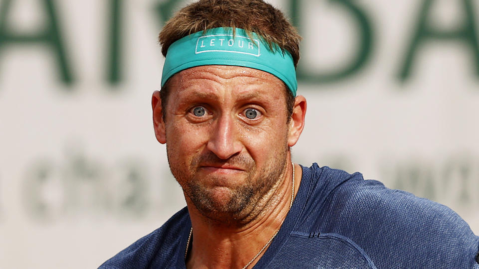 Tennys Sandgren has hit back at critics of his outspoken complaints over hotel quarantine in the lead-up to the Australian Open. (Photo by Clive Brunskill/Getty Images)