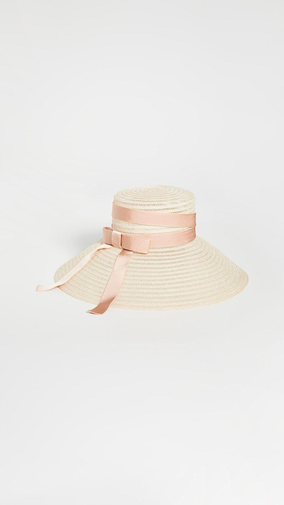 """<p><strong>Eugenia Kim</strong></p><p>shopbop.com</p><p><strong>$495.00</strong></p><p><a href=""""https://go.redirectingat.com?id=74968X1596630&url=https%3A%2F%2Fwww.shopbop.com%2Fmirabel-eugenia-kim%2Fvp%2Fv%3D1%2F1587918541.htm&sref=https%3A%2F%2Fwww.townandcountrymag.com%2Fstyle%2Ffashion-trends%2Fg9267914%2Fbest-kentucky-derby-hats-and-fascinator-headbands%2F"""" rel=""""nofollow noopener"""" target=""""_blank"""" data-ylk=""""slk:Shop Now"""" class=""""link rapid-noclick-resp"""">Shop Now</a></p>"""