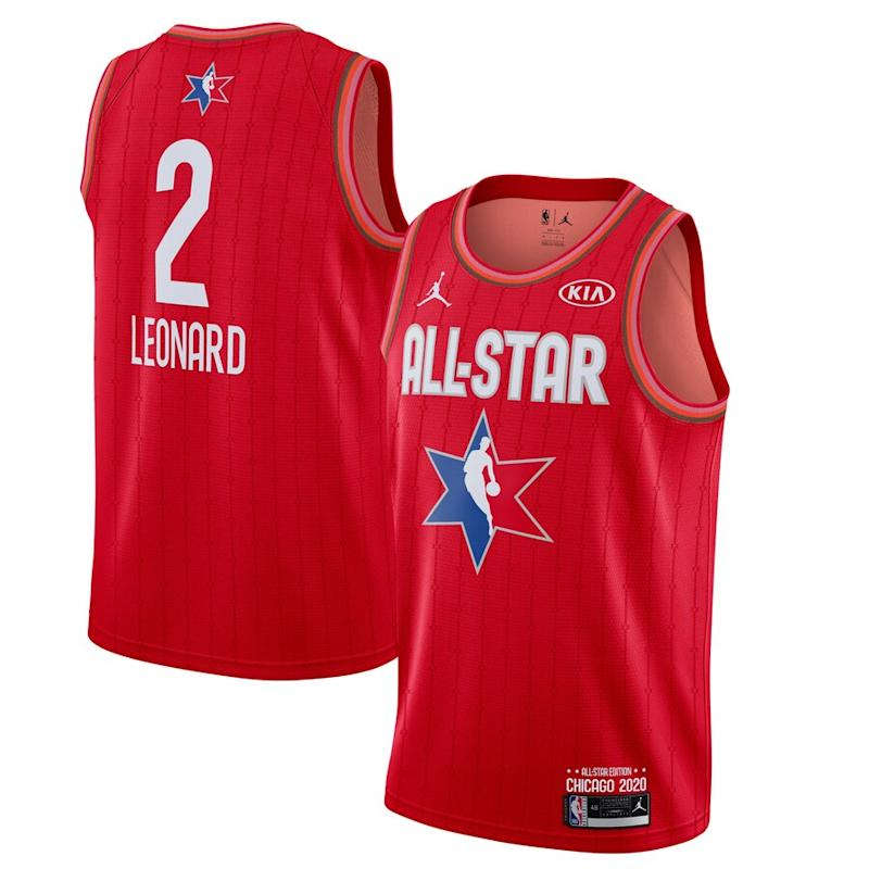 Leonard Jordan Brand 2020 NBA All-Star Game Jersey