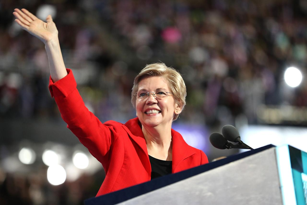 """At the end of December, theMassachusetts Democrat, 69,<a href=""""https://people.com/politics/elizabeth-warren-announces-run-for-president/"""" target=""""_blank"""">began her presidential bid</a>.  The former Harvard bankruptcy law professor — who has drawn headlines for a DNA test she took to prove she has Native American heritage — is known for advocating for more regulations on Wall Street and big corporations. Before joining the Senate she was an adviser to President Obama.  """"If you work hard and play by the rules, you ought to be able to take care of yourself and the people you love,"""" Warren said in her video announcement.  """"We can make our democracy work for all of us,"""" she continued. """"We can make our economy work for all of us."""""""