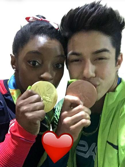 Image result for simone biles boyfriends