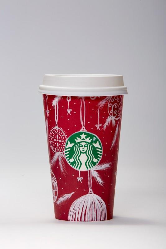 """<p>When Anz moved from her home in the Philippines to Dubai, she made a hobby of drawing on Starbucks cups, collecting more than 75 cup creations. When her husband brought home a red cup last holiday, she was excited to try her first holiday design, with hanging ornaments and feathers reminiscent of dreamcatchers. """"I love the Christmas season so I was really inspired. To me, the color red symbolizes the celebration of love and life,"""" she said. </p>"""