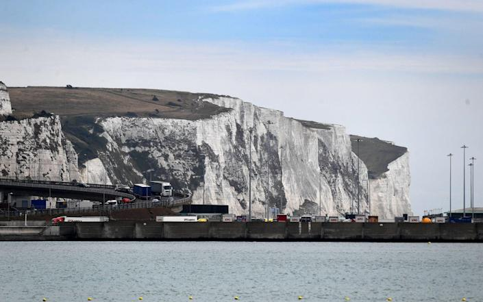 The white cliffs of Dover - ANDY RAIN/Shutterstock