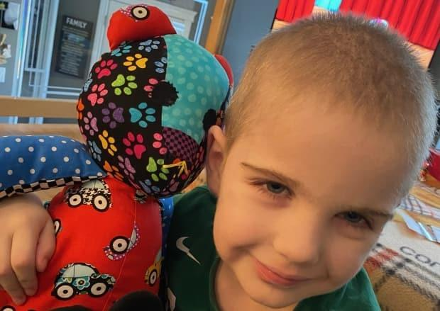 Conner Finn was diagnosed with a rare neurological condition called Adrenoleukodrystrophy (ALD) in June 2020.  (Submitted by Kirsten Finn - image credit)