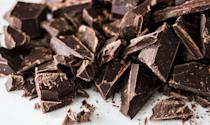 """<p>The fact that chocolate causes breakouts may just be an old wives' tale; Dr. Shainhouse said its probably more because chocolate contains sugar and dairy. Still, there has been some research that links chocolate to acne. A <a rel=""""nofollow noopener"""" href=""""https://www.jaad.org/article/S0190-9622(16)01395-5/fulltext"""" target=""""_blank"""" data-ylk=""""slk:2016 study"""" class=""""link rapid-noclick-resp"""">2016 study</a> found that acne flared up in college students within 48 hours after eating milk chocolate, but not after eating jelly beans with the same glycemic load.</p> <p>""""If you notice that you flare while eating chocolate, then don't eat it, but otherwise, you can enjoy it in moderation,"""" she said. """"In fact, <a rel=""""nofollow noopener"""" href=""""https://www.popsugar.com/fitness/Benefits-Dark-Chocolate-21652693"""" target=""""_blank"""" data-ylk=""""slk:dark chocolate has its own health benefits"""" class=""""link rapid-noclick-resp"""">dark chocolate has its own health benefits</a>!""""</p>"""