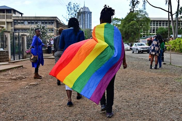 Rights groups said the decision was a step back for equality in Kenya (AFP Photo/TONY KARUMBA)