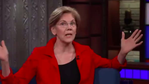 Elizabeth Warren: Donald Trump's 'Racist Slurs' Won't Shut Me Up