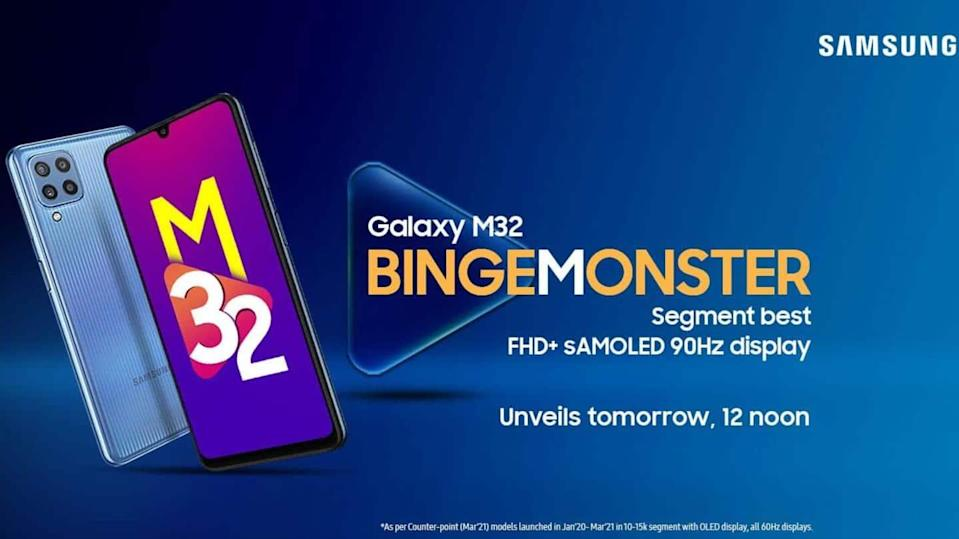 Samsung Galaxy M32 to cost under Rs. 15,000