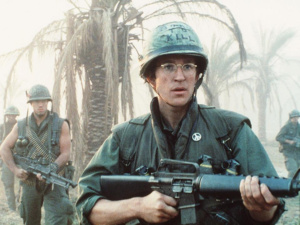 Tensions ran high on the set of Stanley Kubrick's war drama 'Full Metal Jacket'Warner Bros/Kobal/Shutterstock