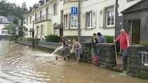 Heavy damage after fatal floods in Germany