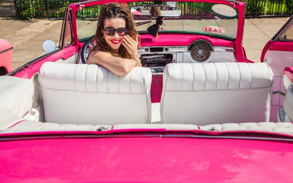 The number of pink cars registered with the DVLA has risen - Paulo Henrique Pampolin/EyeEm