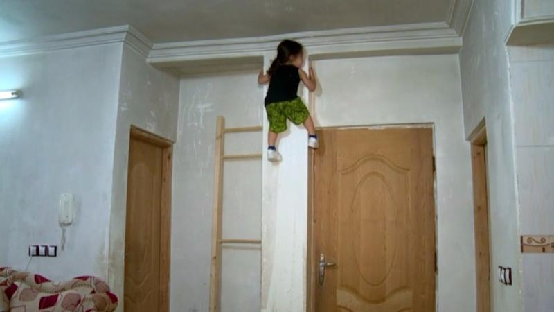 Check Out This 3-Year-Old 'Spider-Boy' Scaling Walls Like a Ninja