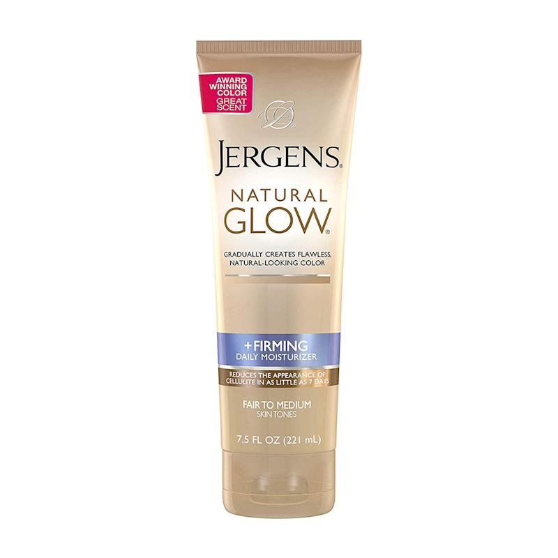 Jergens Natural Glow + Firming Body Lotion. (Photo: Amazon)