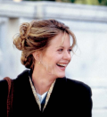 <p>The most famous era for Meg Ryan's hair was her feathery style in <em>Sleepless in Seattle, </em>which we can say from experience served as inspiration for countless haircuts during the decade. </p>
