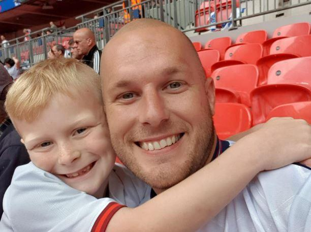 James-Lee with his dad Lee Howick (Picture: SWNS)