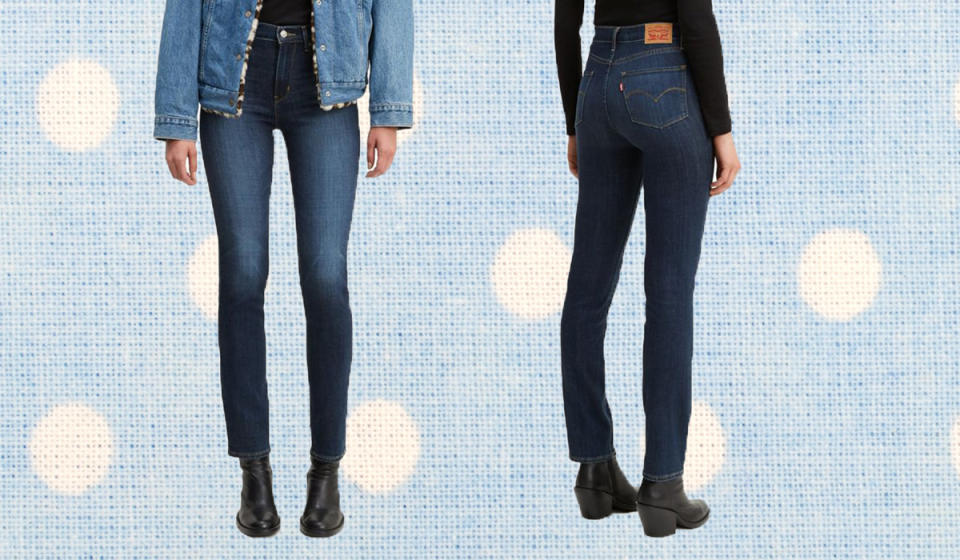 Score $20 off these figure-hugging jeans. (Photo: Zulily)