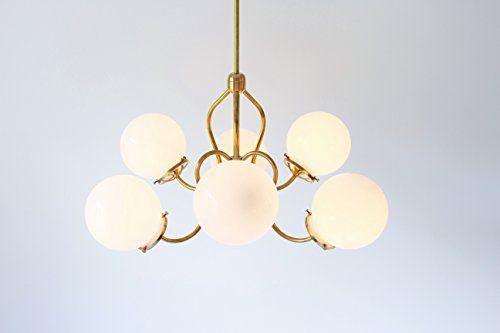 """<p><strong>Modern Brass Chandelier</strong></p><p>BootsNGus </p><p><strong>$550.00</strong></p><p><a href=""""https://www.amazon.com/dp/B01FPUF446?tag=syn-yahoo-20&ascsubtag=%5Bartid%7C10069.g.34043814%5Bsrc%7Cyahoo-us"""" rel=""""nofollow noopener"""" target=""""_blank"""" data-ylk=""""slk:Shop Now"""" class=""""link rapid-noclick-resp"""">Shop Now</a></p><p>""""I'm constantly sourcing unique, one-of-a-kind pieces for my clients and just recently discovered <a href=""""https://urldefense.com/v3/__https://www.amazon.com/Handmade/b"""" rel=""""nofollow noopener"""" target=""""_blank"""" data-ylk=""""slk:AmazonHandmade"""" class=""""link rapid-noclick-resp"""">AmazonHandmade</a>. From hand-thrown pottery to chandeliers and hand-painted textiles, we're being connected to master artisans and small-business owners across the globe. The platform even allows you to select specific regions you want to shop so that you can support local makers in the areas you love most."""" – Emily Spanos, <a href=""""https://www.emilyjunedesigns.com/"""" rel=""""nofollow noopener"""" target=""""_blank"""" data-ylk=""""slk:Emily June Designs"""" class=""""link rapid-noclick-resp"""">Emily June Designs</a></p>"""