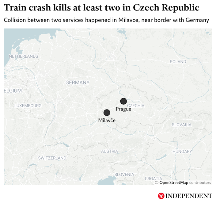 The crash happened near the border with Germany (The Independent)