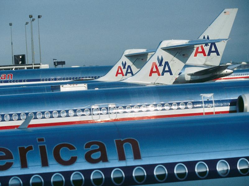American Airlines MD-80 aircraft