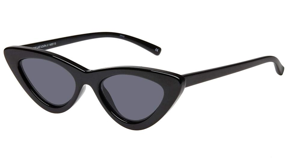 "<h3>Over 50% Off Select Sunglasses By Le Specs</h3><br>Some of the biggest celeb faves by <a href=""https://amzn.to/3iGQlL7"" rel=""nofollow noopener"" target=""_blank"" data-ylk=""slk:Le Specs"" class=""link rapid-noclick-resp"">Le Specs</a> are currently (or will be!) on sale, including the Lolita. <br><br><strong>Sunshades Eyewear</strong> The Last Lolita Eyewear, $, available at <a href=""https://amzn.to/2GypFPG"" rel=""nofollow noopener"" target=""_blank"" data-ylk=""slk:Amazon Fashion"" class=""link rapid-noclick-resp"">Amazon Fashion</a>"