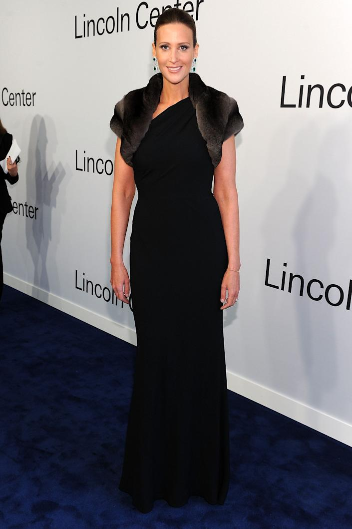 Stephanie Winston Wolkoff attends an evening with Ralph Lauren hosted by Oprah Winfrey at Lincoln Center on October 24, 2011 in New York City.