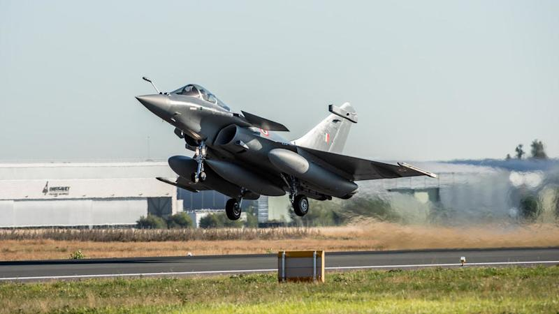 'The birds have landed': French-made Rafale jets arrive in India amid China tensions