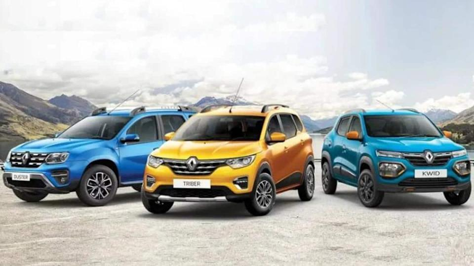 Attractive benefits announced on Renault KWID, Triber, and Duster