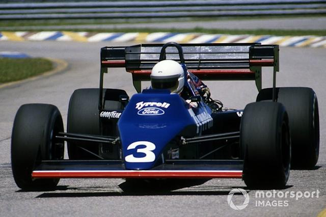 """Martin Brundle, Tyrrell 012 <span class=""""copyright"""">Sutton Images</span>"""