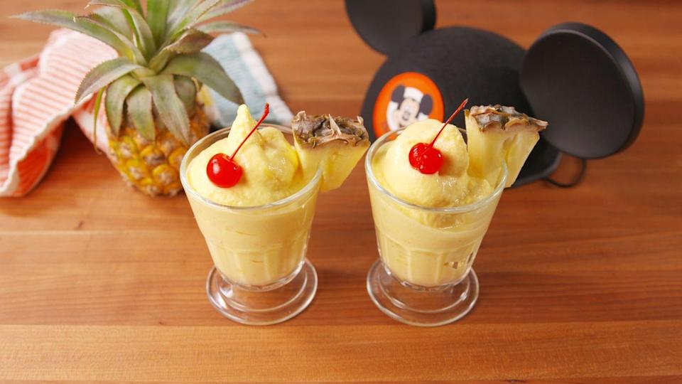 "<p>I want you and your beautiful Dole.</p><p>Get the recipe from <a href=""https://www.delish.com/cooking/recipe-ideas/recipes/a46780/copycat-dole-pineapple-whip-recipe/"" rel=""nofollow noopener"" target=""_blank"" data-ylk=""slk:Delish"" class=""link rapid-noclick-resp"">Delish</a>.</p>"