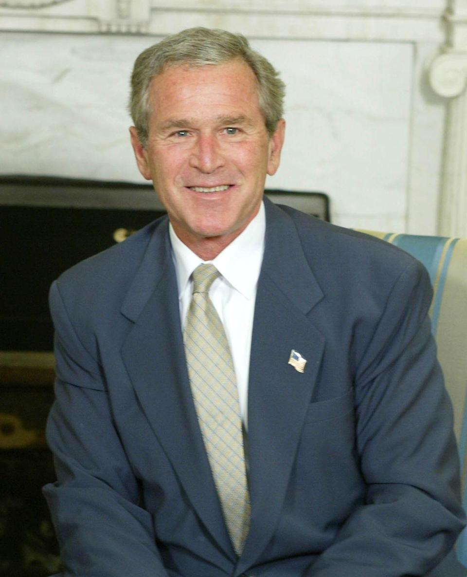 "<p>It was reported the President George W. Bush received over 300 pounds of <a href=""https://www.theatlantic.com/politics/archive/2016/02/the-unusual-gifts-given-to-presidents/462831/"" rel=""nofollow noopener"" target=""_blank"" data-ylk=""slk:raw lamb from Argentina"" class=""link rapid-noclick-resp"">raw lamb from Argentina</a> while in office.</p>"