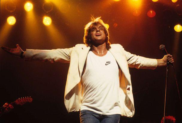 PHOTO: MINNEAPOLIS - MAY 2: Eddie Money performs at the Orpheum Theatre in Minneapolis, Minnesota on May 2, 1987. (Photo by Jim Steinfeldt/Michael Ochs Archives/Getty Images) (Jim Steinfeldt/Getty Images, FILE)