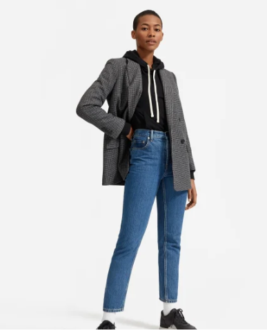 The Oversized Double-Breasted Blazer
