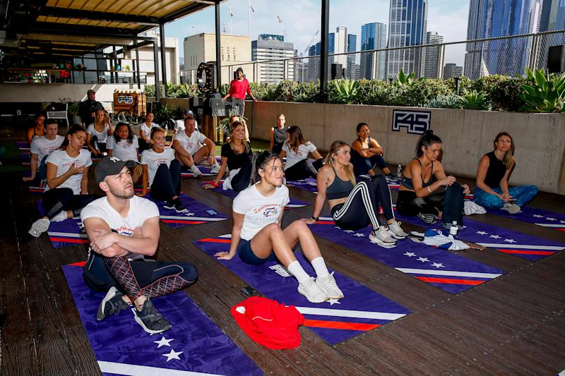 MELBOURNE, AUSTRALIA - AUGUST 22: The F45 Training's Recovery Session launch at QT Melbourne on August 22, 2019 in Melbourne, Australia. (Photo by Sam Tabone/WireImage) (Photo: Sam Tabone via Getty Images)