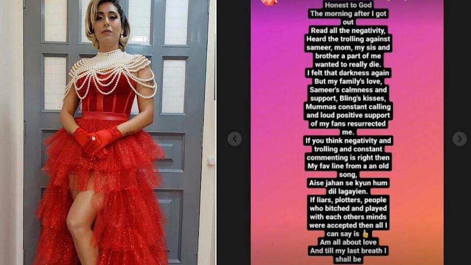 """<div class=""""paragraphs""""><p>Neha Bhasin shared a note on her Instagram handle.</p></div>"""
