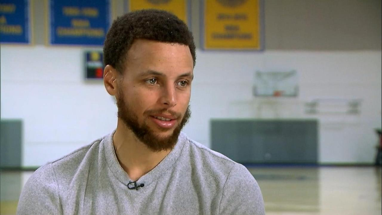 Stephen Curry defends wife's comments from 2016 NBA finals and opens up about family life