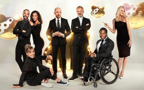 The hosts of 2019's Children in Need telethon - Credit: BBC