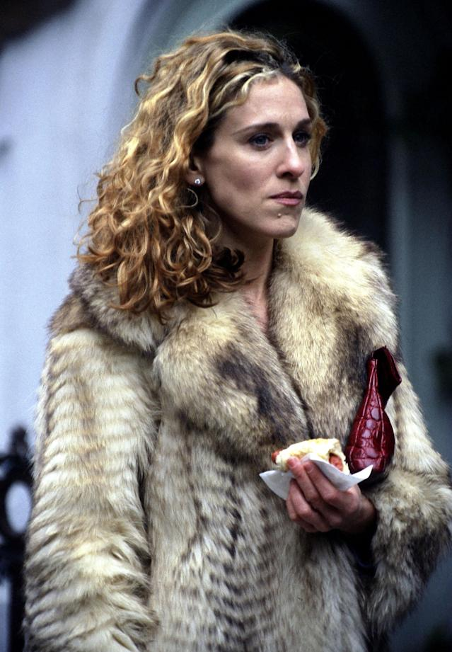 Introducing Carrie Bradshaw: Sarah Jessica Parker as her character in 1998. (Photo: Ron Galella, Ltd./WireImage)