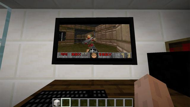 Doom' inside 'Minecraft'
