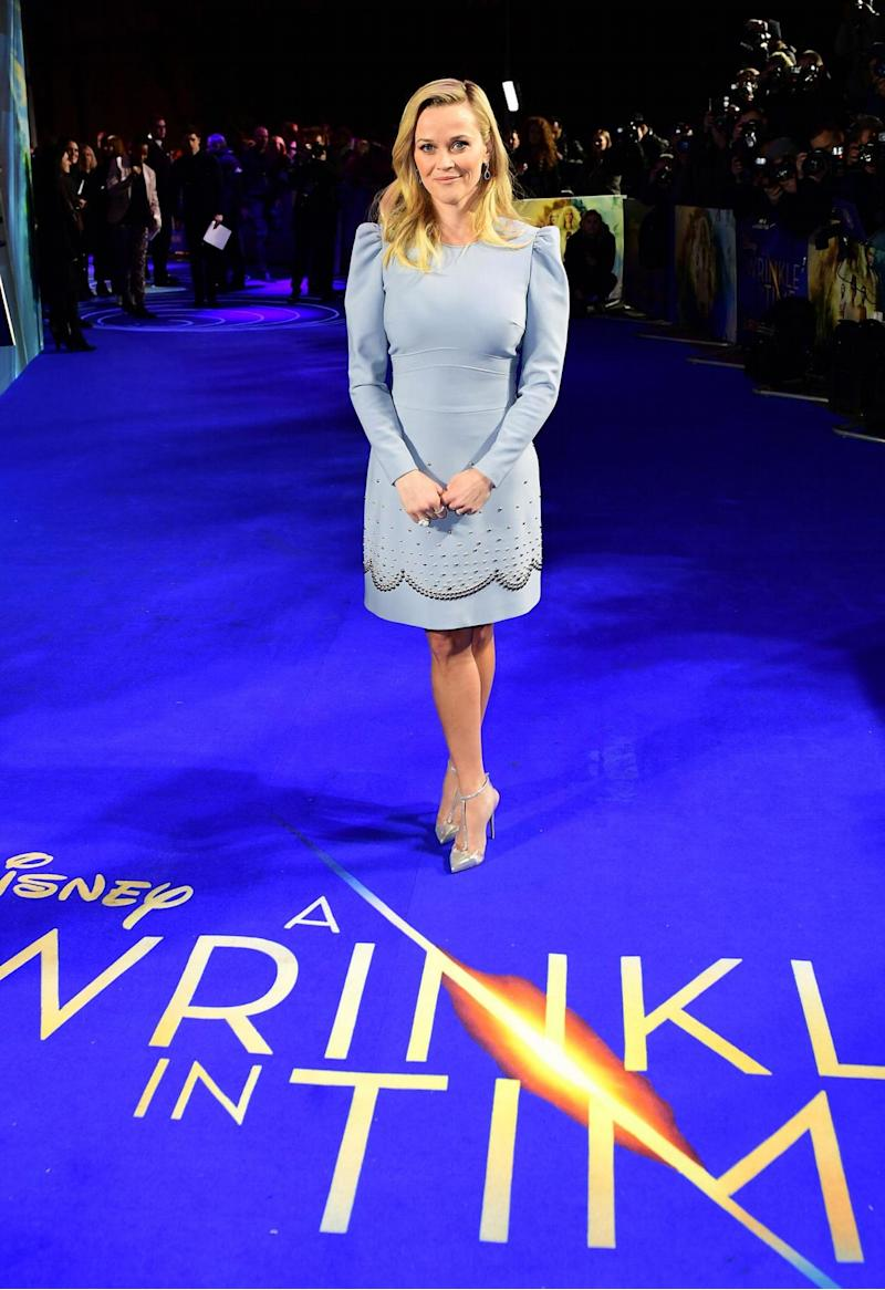Reese Witherspoon at the premiere (PA)