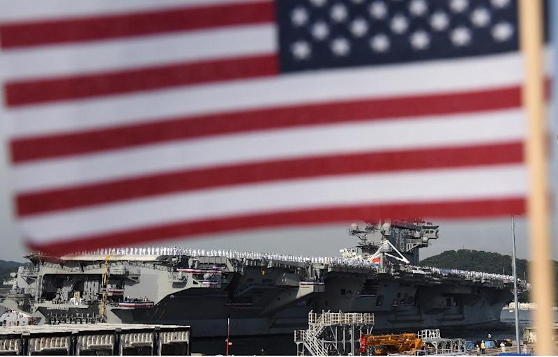 The US Navy is investigating sailors at Yokosuka base for alleged drug use, reportedly including some serving aboard the aircraft carrier USS Ronald Reagan
