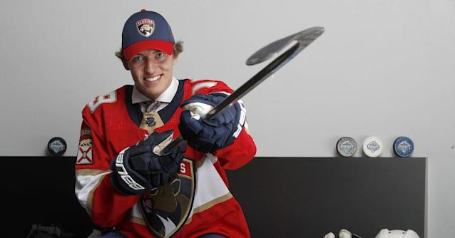 Florida Panthers select defenseman Carter Berger with fourth round pick