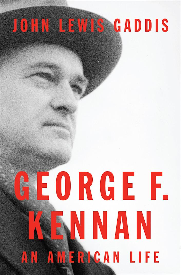 """In this undated image released by The Penguin Press, """"George F. Kennan: An American Life,"""" by John Lewis Gaddis is shown. On Monday, April 16, 2012, Gaddis won the Pulitzer Prize for biography for """"George F. Kennan: An American Life."""" (AP Photo/The Penguin Press)"""