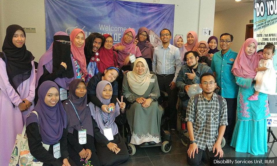 Disabled professor fights to give OKU students chance for success
