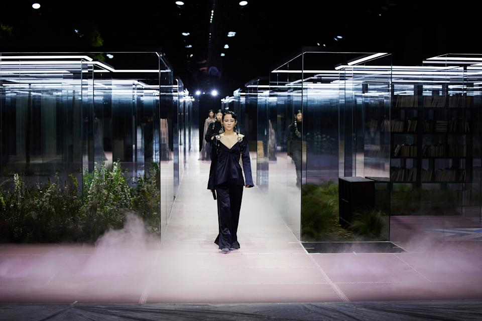 FENDI Couture Spring/Summer 2021 in Shanghai. (PHOTO: Fendi)