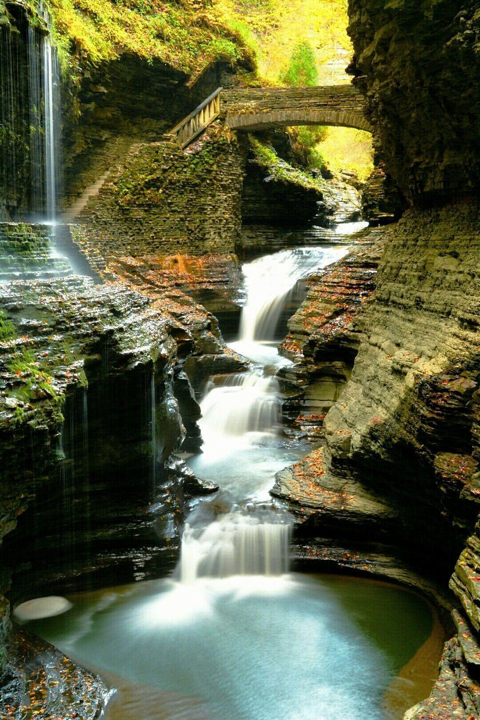 <p><strong>Where: </strong>Watkins Glen, New York</p><p><strong>Why We Love It: </strong>Located in New York's Finger Lakes Region, this narrow gorge features 19 waterfalls within the space of just two miles.</p>
