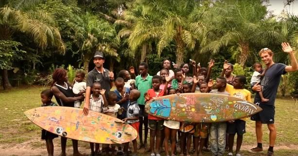 Surf - Lost in the Swell - Fin de l'aventure «Lost in the Swell» au Gabon