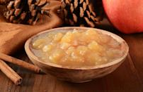 """<p>McIntosh apples break down easily, which means that they're best eaten out of hand or in<a href=""""https://www.thedailymeal.com/recipes/instant-pot-apple-sauce-recipe?referrer=yahoo&category=beauty_food&include_utm=1&utm_medium=referral&utm_source=yahoo&utm_campaign=feed"""" rel=""""nofollow noopener"""" target=""""_blank"""" data-ylk=""""slk:applesauce"""" class=""""link rapid-noclick-resp""""> applesauce</a>. They're also great for juicing or turning into <a href=""""https://www.thedailymeal.com/recipes/spiced-cider-recipe-0?referrer=yahoo&category=beauty_food&include_utm=1&utm_medium=referral&utm_source=yahoo&utm_campaign=feed"""" rel=""""nofollow noopener"""" target=""""_blank"""" data-ylk=""""slk:cider."""" class=""""link rapid-noclick-resp"""">cider.</a></p>"""